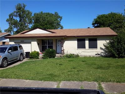 Single Family Home Active Option Contract: 1613 Summit Street