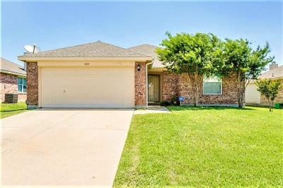 Burleson Single Family Home Active Option Contract: 1028 Stockton Drive