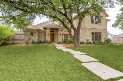 Dallas Single Family Home For Sale: 10018 Coppedge Lane
