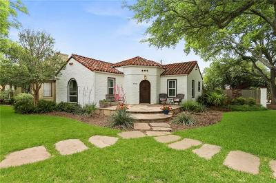 Dallas Single Family Home For Sale: 6302 Ellsworth Avenue