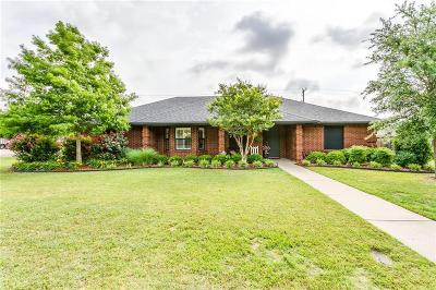 Cleburne Single Family Home Active Option Contract: 1601 Hyde Park Boulevard