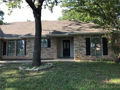 Azle Single Family Home Active Option Contract: 913 Lakeview Drive