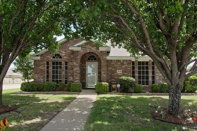 Sachse Single Family Home Active Contingent: 7314 Creekstone Drive