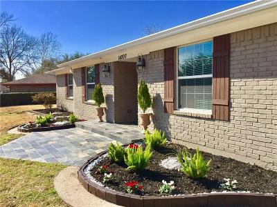 Farmers Branch Single Family Home For Sale: 14207 Tanglewood Drive