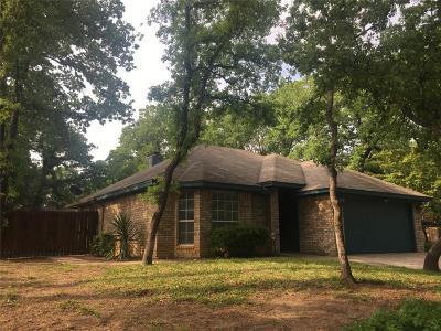 Azle Single Family Home Active Option Contract: 700 Oak Park Drive