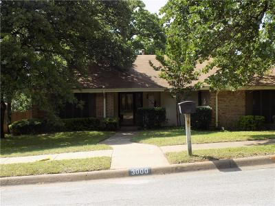 Bedford Single Family Home Active Option Contract: 3000 Pecan Circle