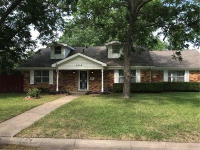 Richland Hills Single Family Home For Sale: 3505 Chaffin Drive