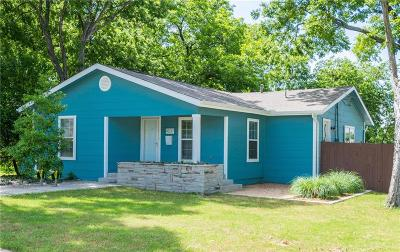 Fort Worth Single Family Home For Sale: 4837 Birchman Avenue