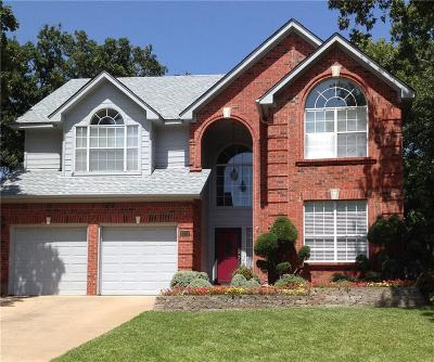 Grapevine Single Family Home For Sale: 1804 Rolling Ridge Drive