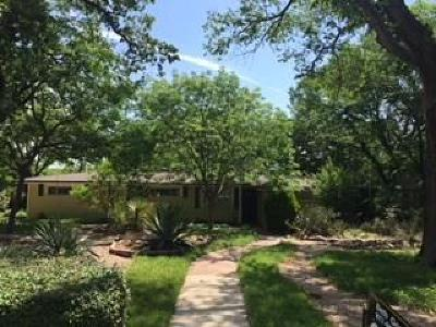 Fort Worth Single Family Home Active Option Contract: 1701 Jenson Road