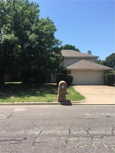 North Richland Hills Single Family Home Active Option Contract: 5625 Havana Drive