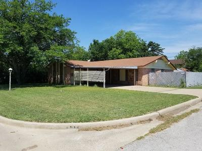 Mineral Wells Single Family Home For Sale: 1207 21st Street