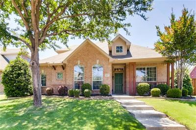Frisco Single Family Home Active Option Contract: 11697 Forestbrook Drive
