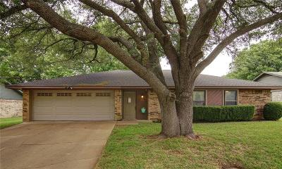 Weatherford Single Family Home Active Option Contract: 1108 Dirkson Street