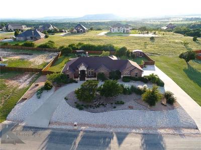 Abilene Single Family Home Active Option Contract: 210 Cedar Lake Drive