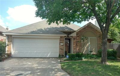 Euless Single Family Home Active Option Contract: 376 Arbor Lane