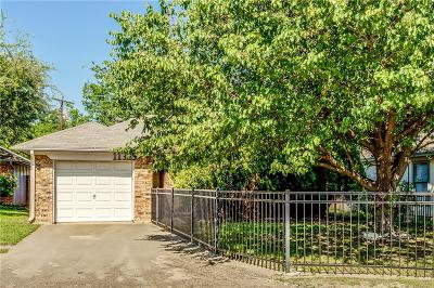 Fort Worth Single Family Home Active Option Contract: 11325 Golden Triangle Circle