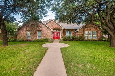 Colleyville Single Family Home Active Option Contract: 5406 Birch Court
