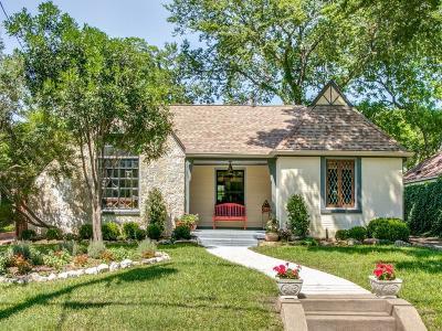 Dallas Single Family Home For Sale: 5310 Bradford Drive
