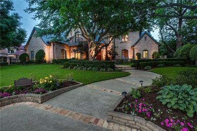 Colleyville Single Family Home Active Option Contract: 5403 Miramar Lane