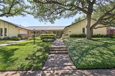 Dallas Half Duplex For Sale: 10536 Egret Lane