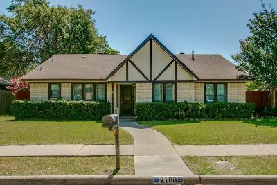 Carrollton Single Family Home Active Option Contract: 2100 Hickory Drive