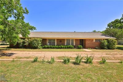 Abilene Single Family Home For Sale: 6150 Antilley Road