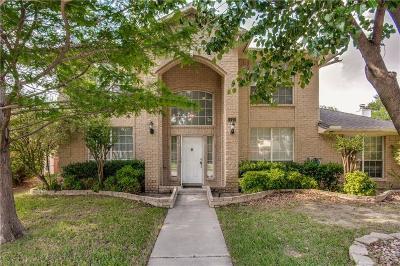 Carrollton Single Family Home Active Option Contract: 1321 Black Oak Drive