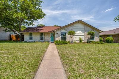 Richardson Single Family Home Active Option Contract: 1807 Rainbow Drive