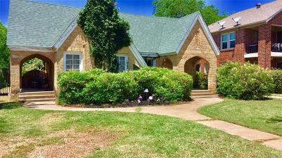 Fort Worth Multi Family Home For Sale: 3320 S University Drive