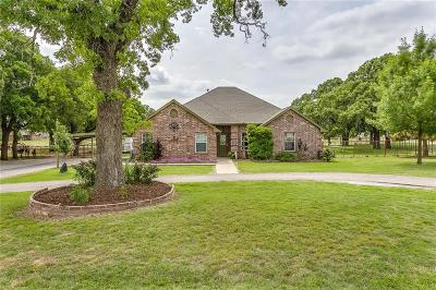 Weatherford Single Family Home For Sale: 585 Harmony Road