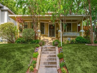 Dallas Single Family Home Active Option Contract: 127 N Winnetka Avenue