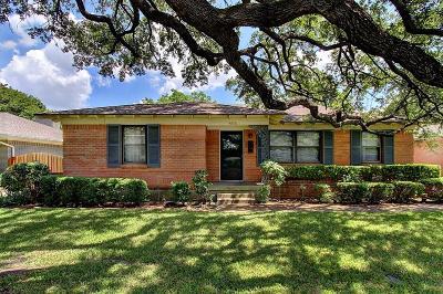 Dallas Single Family Home For Sale: 4606 Rockaway Drive