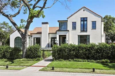 Dallas Single Family Home For Sale: 5807 Park Lane