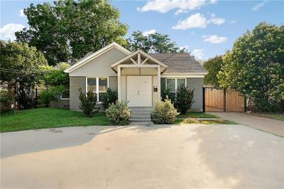 Dallas, Fort Worth Single Family Home For Sale: 5302 Denton Drive