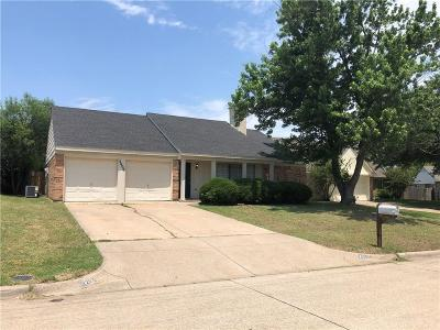 Grand Prairie Single Family Home Active Option Contract: 2606 Winslow Drive