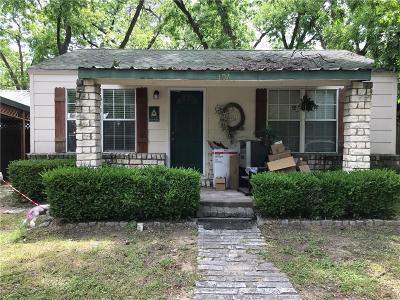 Somervell County Single Family Home Active Contingent: 104 E Pecan Street E