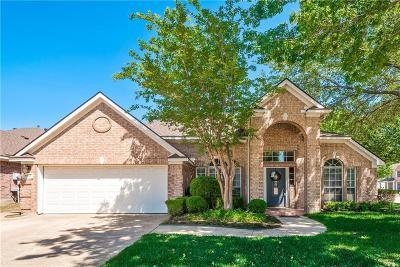 Haltom City Single Family Home Active Option Contract: 5783 Falcon Ridge Court