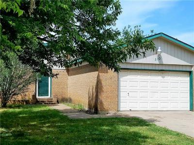 Mansfield Single Family Home For Sale: 510 S Waxahachie Street