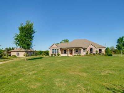 Van Alstyne Single Family Home Active Option Contract: 573 Bear Road