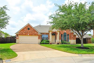 Mansfield Single Family Home Active Option Contract: 2811 Chesterwood Court