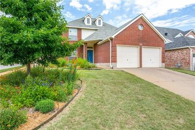 Grapevine Single Family Home Active Option Contract: 1538 Winslow Lane