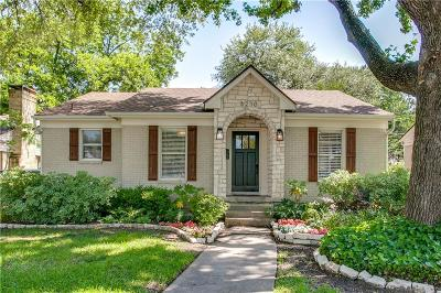 Single Family Home For Sale: 6210 Anita Street