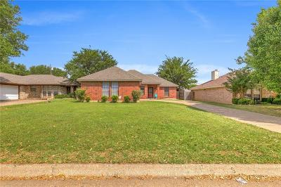 Cleburne Single Family Home Active Option Contract: 414 Odell Street