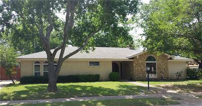Hurst Single Family Home Active Option Contract: 1705 Brown Trail