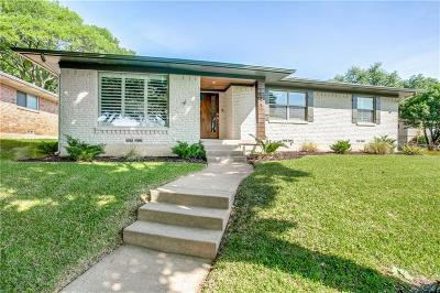 Dallas Single Family Home For Sale: 10123 Medlock Drive