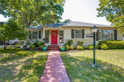 Tarrant County Single Family Home For Sale: 2500 Littlepage Street