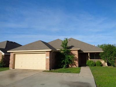 Residential Lease For Lease: 613 Westcreek Drive
