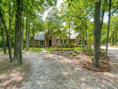 Aubrey Single Family Home For Sale: 4391 Running Branch Road