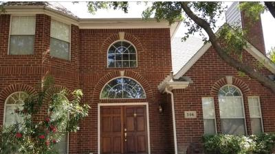 Irving Single Family Home For Sale: 306 Santa Fe Trail